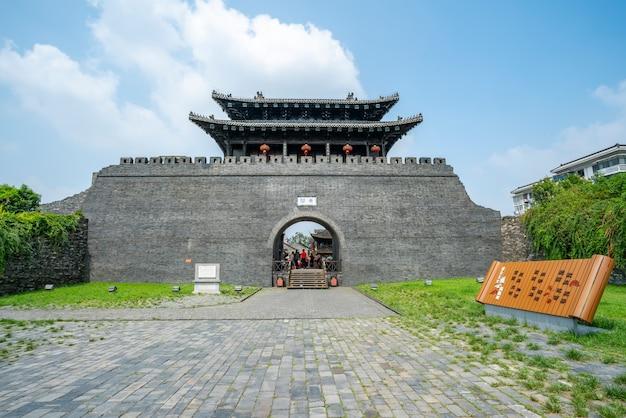 Rue dongguan, yangzhou, zhejiang, chine, 07,212018. yangzhou est un centre historique, culturel et culturel réputé.
