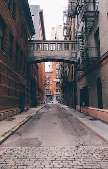 Rue principale à new york