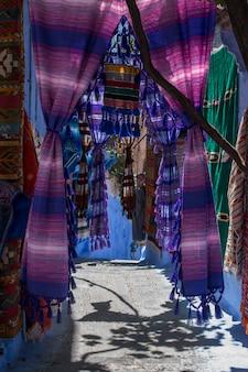 Rue de la ville de chefchaouen