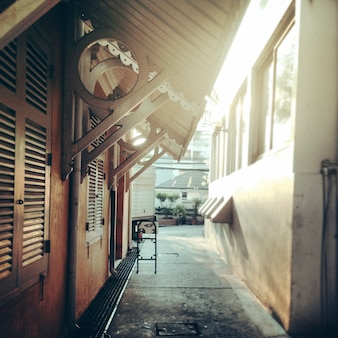 Une ruelle à bangkok