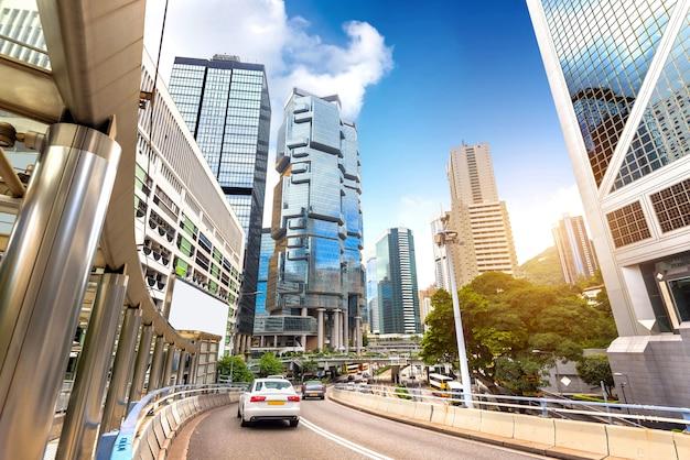 Les rues de hong kong