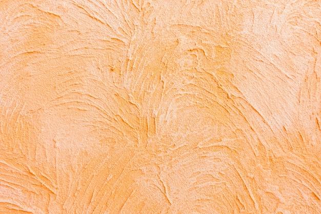Rugueux peinture gradient de mur d'orange