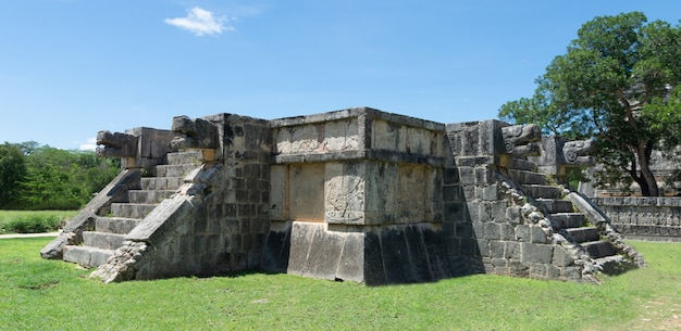 Ruine maya au mexique