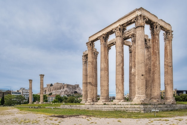 Ruines de l'acropole