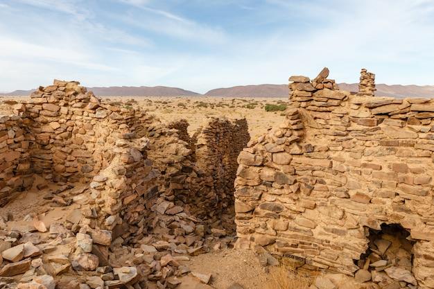 Ruines de l'ancienne ville