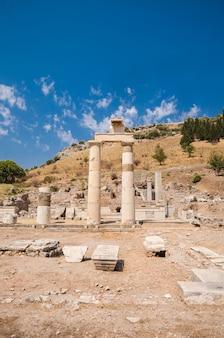 Ruines antiques d'ephèse, turquie.