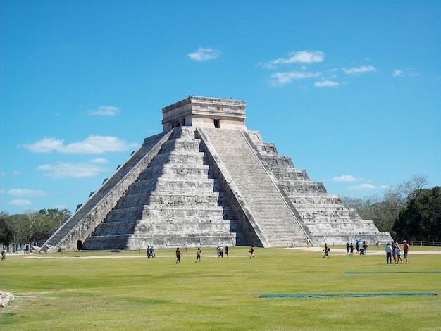 Ruines antiques de maya, chichen itza, yucatan, mexique