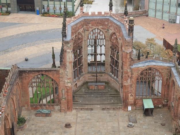 Ruines de la cathédrale de coventry