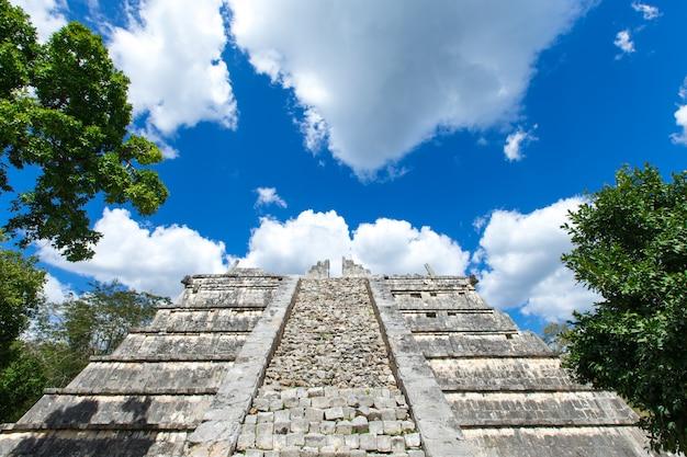 Ruines de chichen itza, mexique