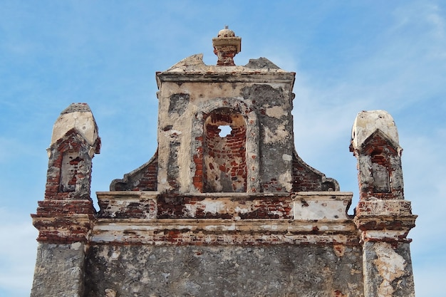 Ruines du petit village dhanushkodi rameshwaram inde