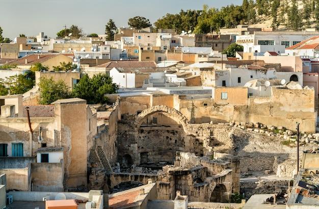 Ruines du temple romain du kef - tunisie, afrique