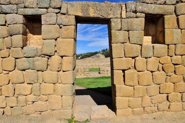 Ruines d'ingapirca, cuenca, equateur
