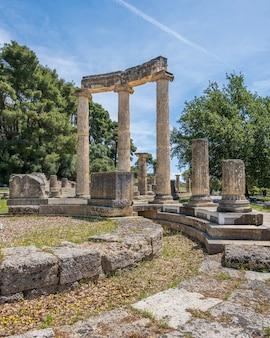 Ruines à olympie