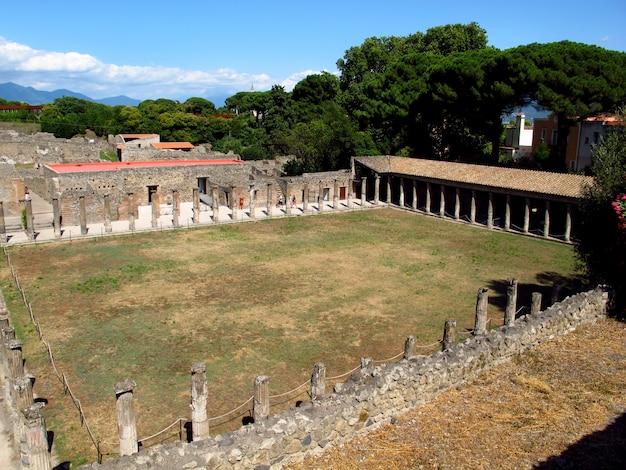 Ruines romaines antiques à pompéi, italie