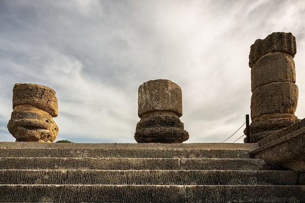 Ruines romaines de baelo claudia, situées près de tarifa. andalousie. espagne.
