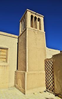 Ruines de la ville abandonnée de nain en iran
