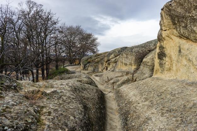 Ruines de la ville rocheuse d'uplistsikhe