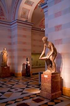 Russie hermitage de saint-pétersbourg intérieur