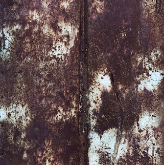 Rusty détaillée vieux fond de texture