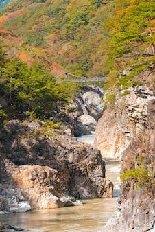 Ryuyo gorge canyon nikko japon