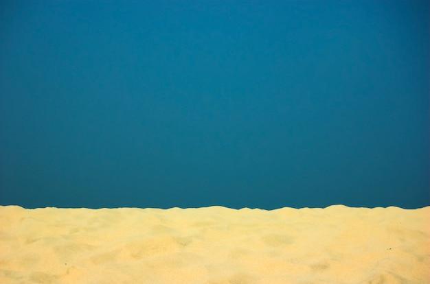 Le sable et le ciel