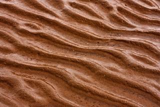 Sable crêtes texture détaillée