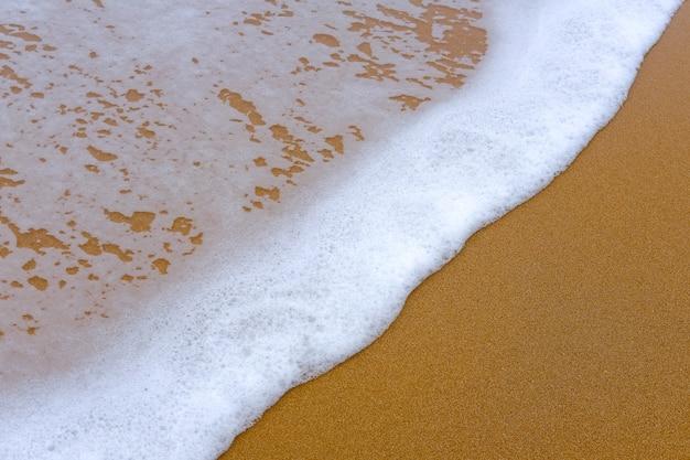 Sable et eau de la mer