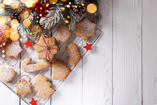 Sablés de noël ou biscuits au pain d'épice