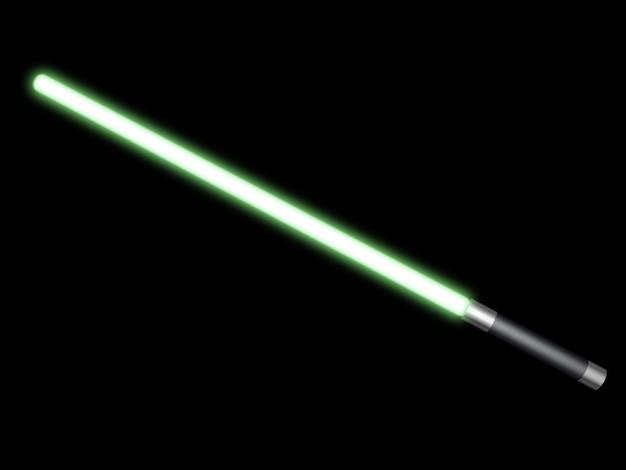 Sabre de lumière verte