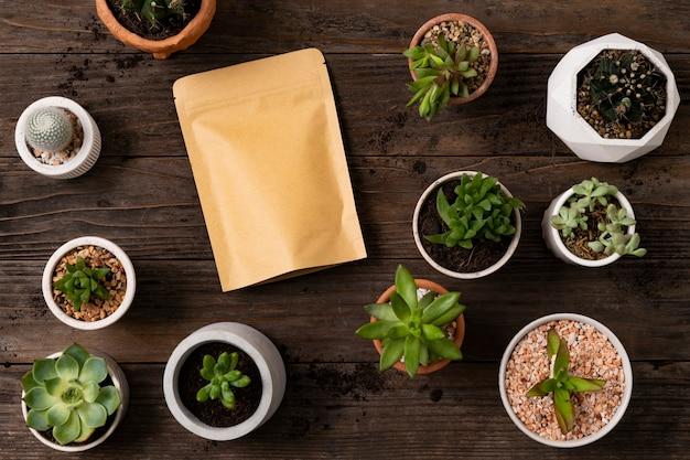 Sac kraft d'emballage alimentaire pour la livraison