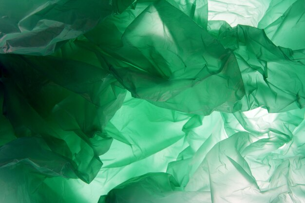 Sac plastique. le polyéthylène peut utiliser comme arrière-plan.