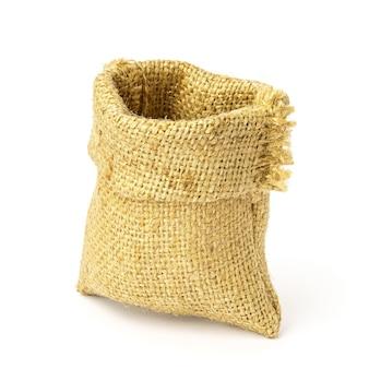 Sac à provisions vide isolé. sac pour conserver les céréales