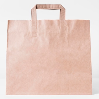Sac de transport en papier vierge pour faire du shopping