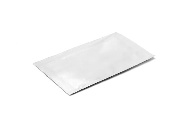 Sachet de feuille d'emballage vide isolé