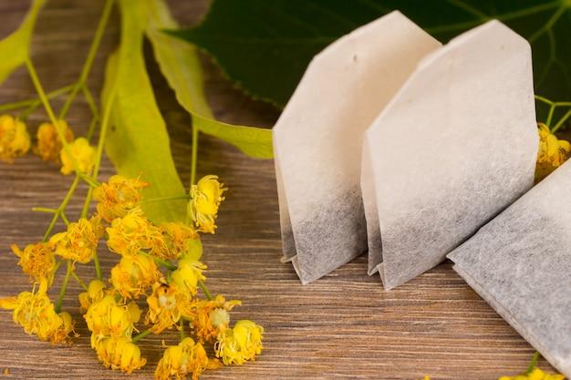 Sachets de thé aux fleurs de tilleul