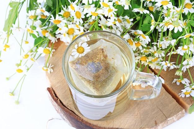Sachets de thé à la camomille
