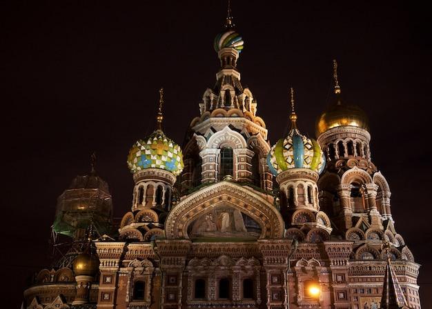 Saint-pétersbourg, russie, église orthodoxe