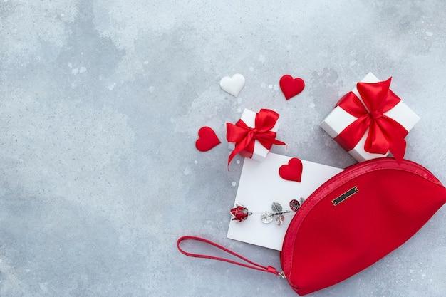 Saint valentin, jour de la femme et autre fond festif de vacances.