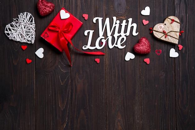 Saint valentin, mariage ou autres décorations de fêtes, fond de cadre.