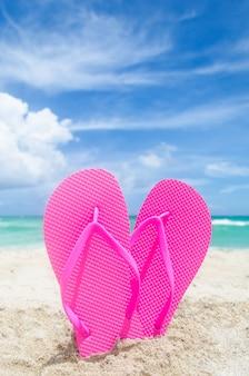 Saint valentin sur la plage de miami