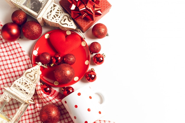 Saison rouge salutation joyeux noël prop décoration