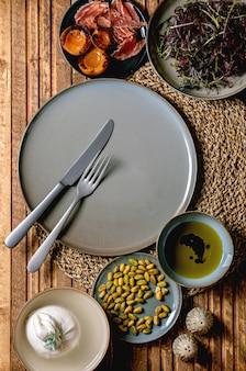 Salade de burrata
