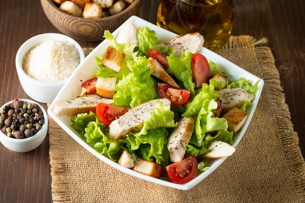 Salade césar fraîche