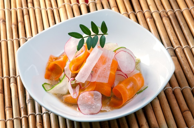 Salade chinoise.