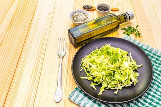 Salade de chou frais