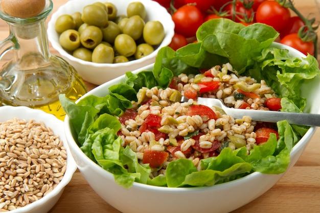Salade d'épeautre