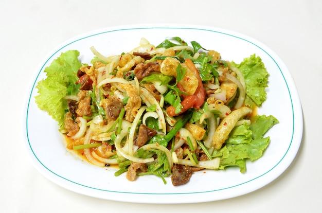 Salade épicée