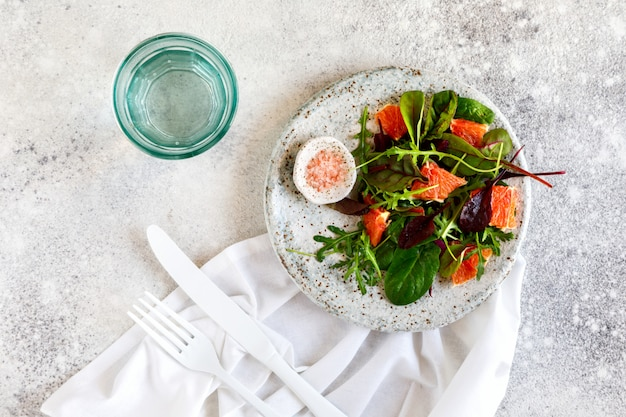 Salade d'été mélange de verdure