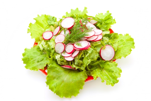 Salade faible en calories