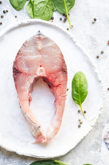Salade jambon viande de porc viande sèche jambon italien prosciutto serrano